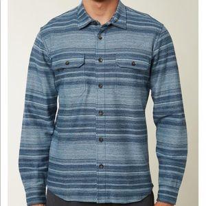 Men's O'Neill Trent knoven shirt in blue